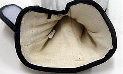 内綿牛床皮手袋